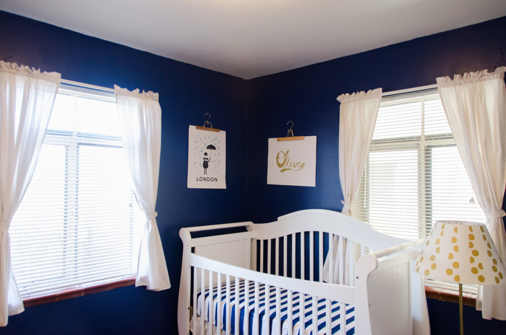 Navy And Gold S Nursery Project