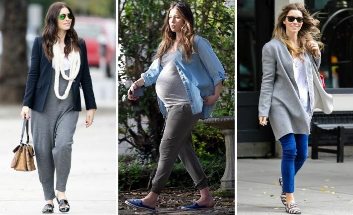 Jessica Biel's Maternity Style