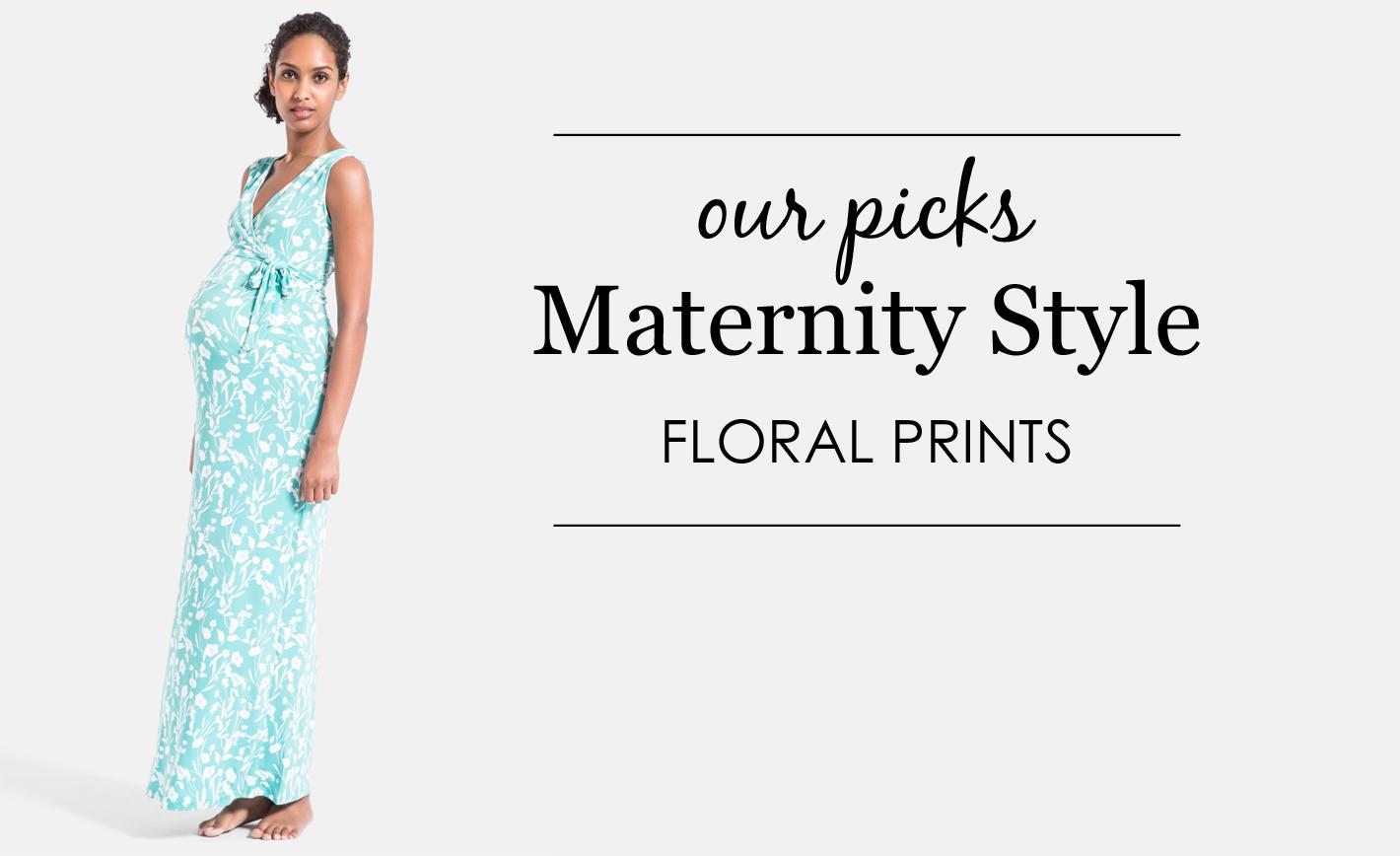 Maternity Floral Prints