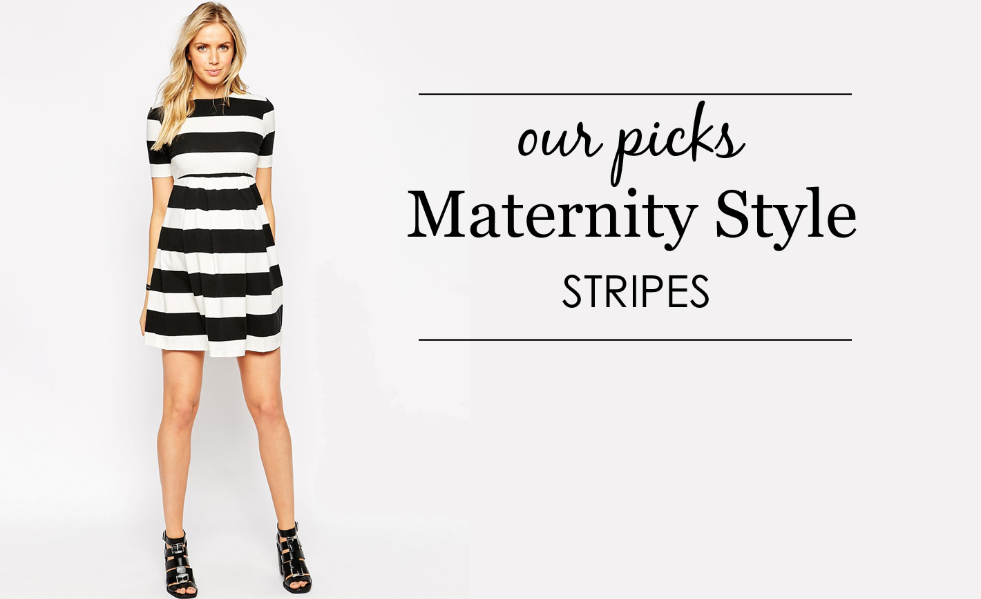 Striped Maternity Clothes
