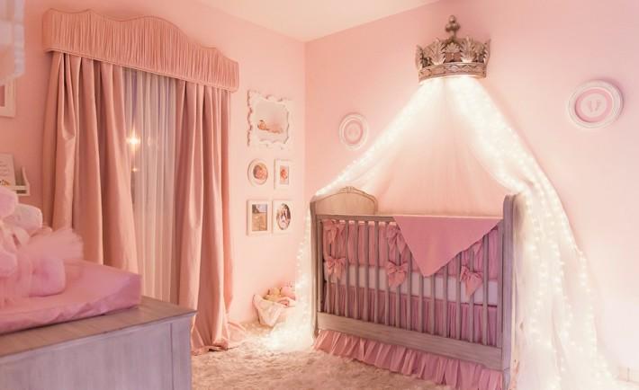 Elegant Pink Princess Nursery - Project Nursery