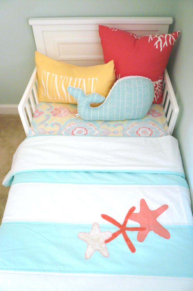 Coastal Toddler Bed