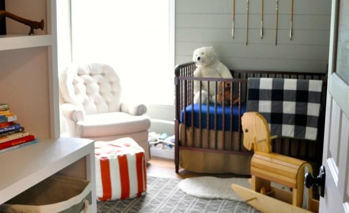 Vintage Camping-Themed Nursery - Project Nursery