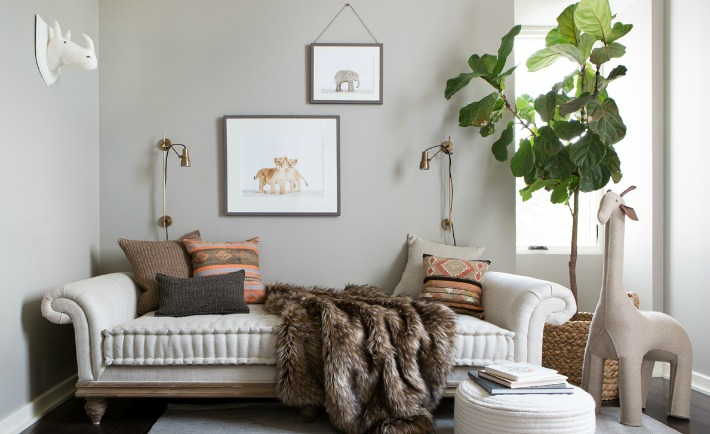 Camille Styles' Neutral Safari-Inspired Nursery