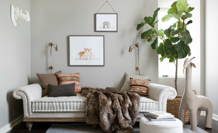 Camille Styles' Neutral Safari-Inspired Nursery