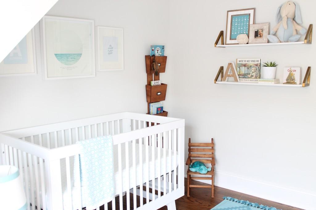 Serene Ocean Inspired Nursery
