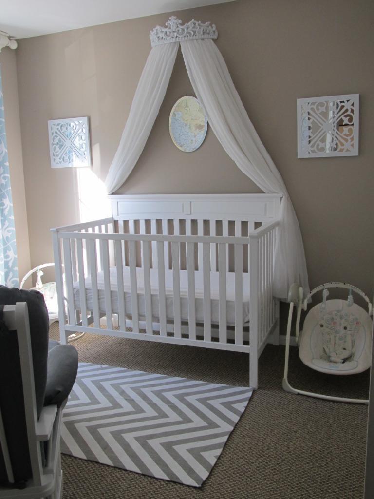 Best Baby Girl Room Design: Little Girl Travel Nursery