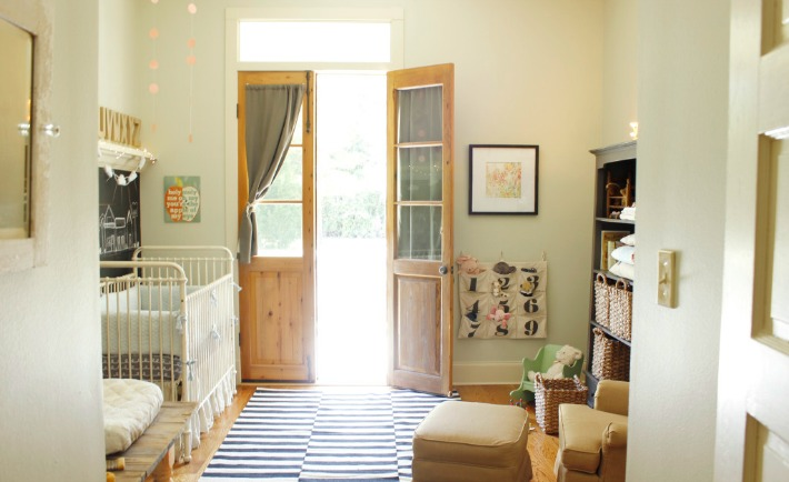 Neutral Nursery with Vintage Accents - Project Nursery