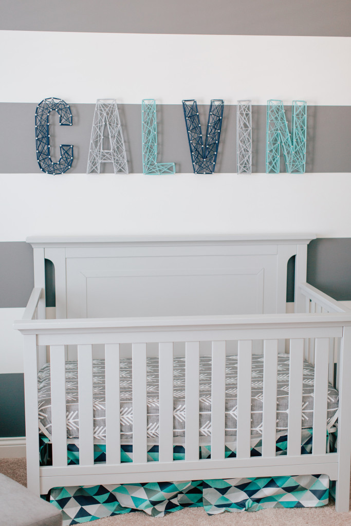 Calvin S Modern Blue And Gray Nursery Project Nursery