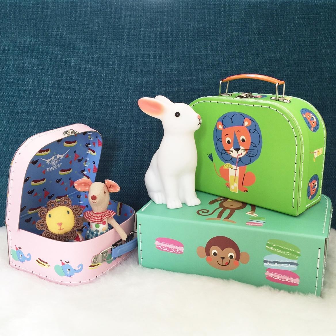 Animal Suitcases