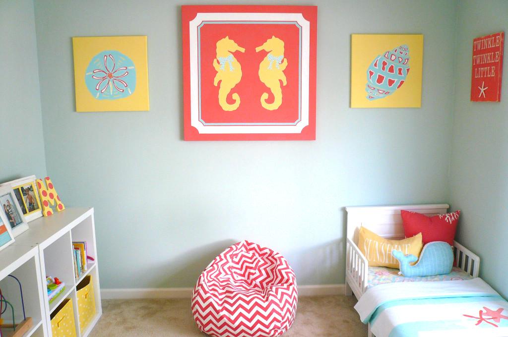 Coastal Toddler Room