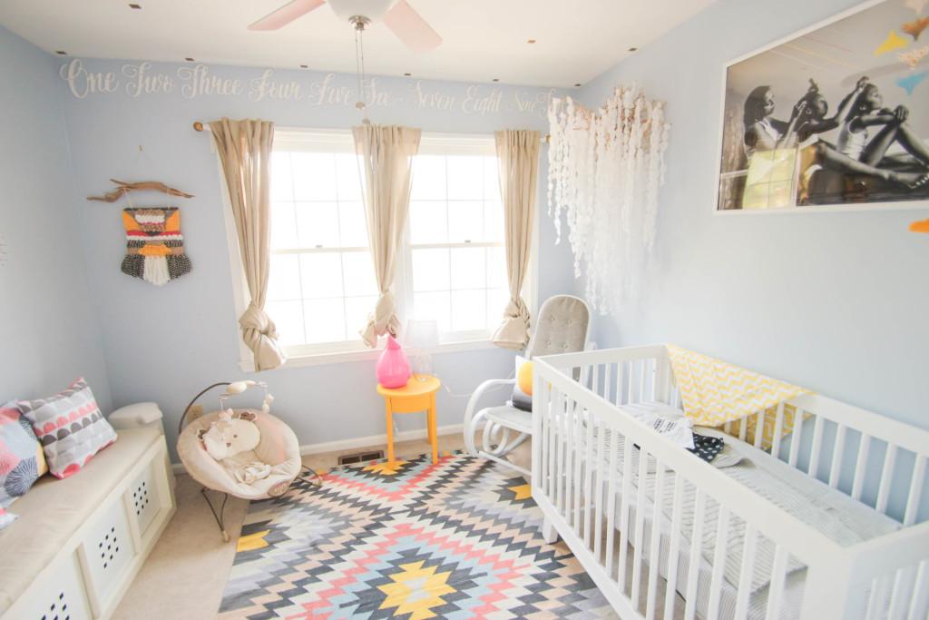 A Native American Nursery For Baby Phoenix
