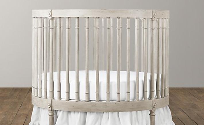 RH Baby & Child Round Crib