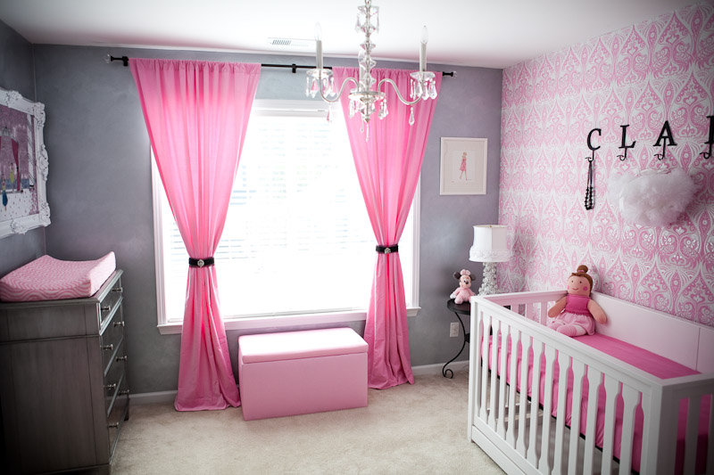 Gray And Pink Nursery Project