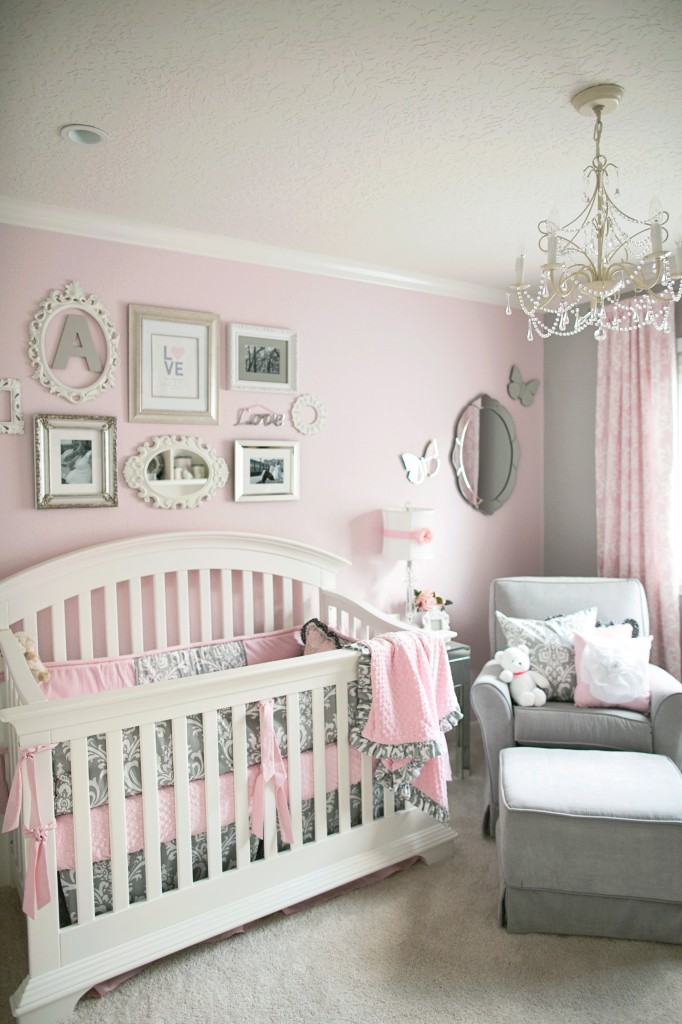Pink And Gray Nursery   Project Nursery