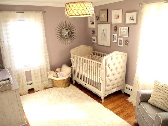 Glamorous Lavender Nursery - Project Nursery