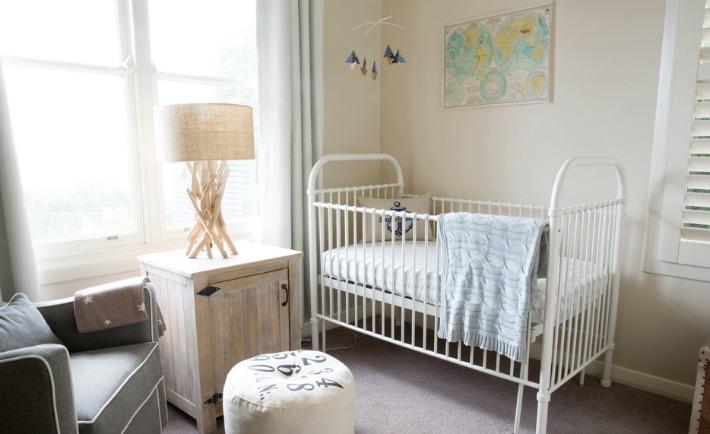 Eclectic Coastal-Themed Nursery - Project Nursery