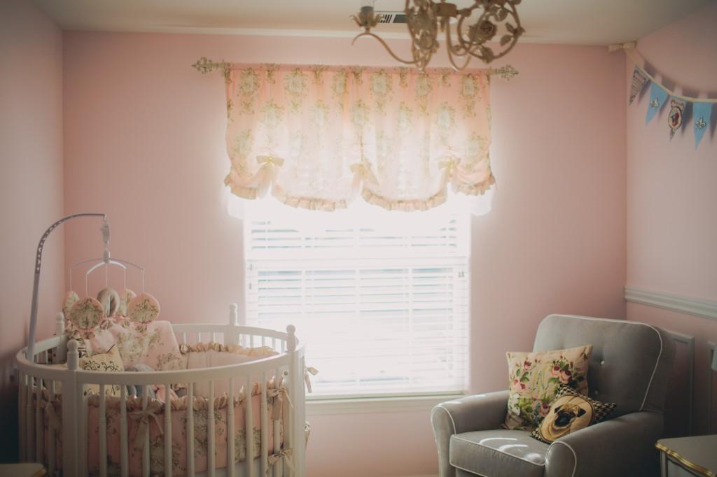 Vintage Inspired Pink Nursery - Project Nusery