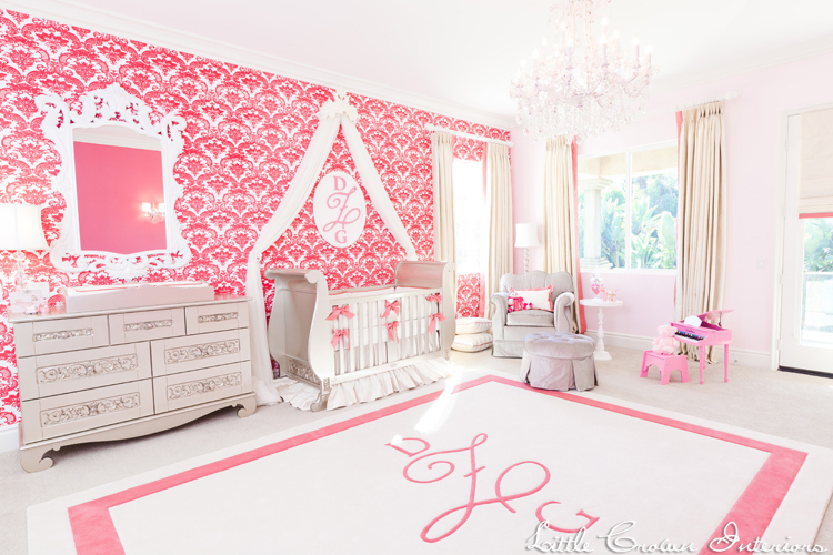 Luxurious Pink and White Nursery - Project Nursery