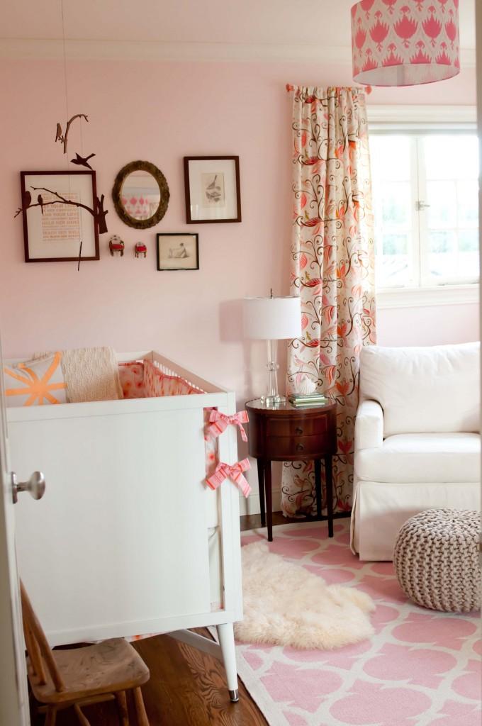 Pink Girl's Nursery - Project Nursery