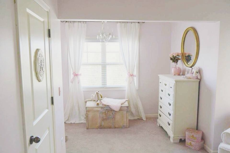 Glamorous Pink and Gold Nursery - Project Nursery