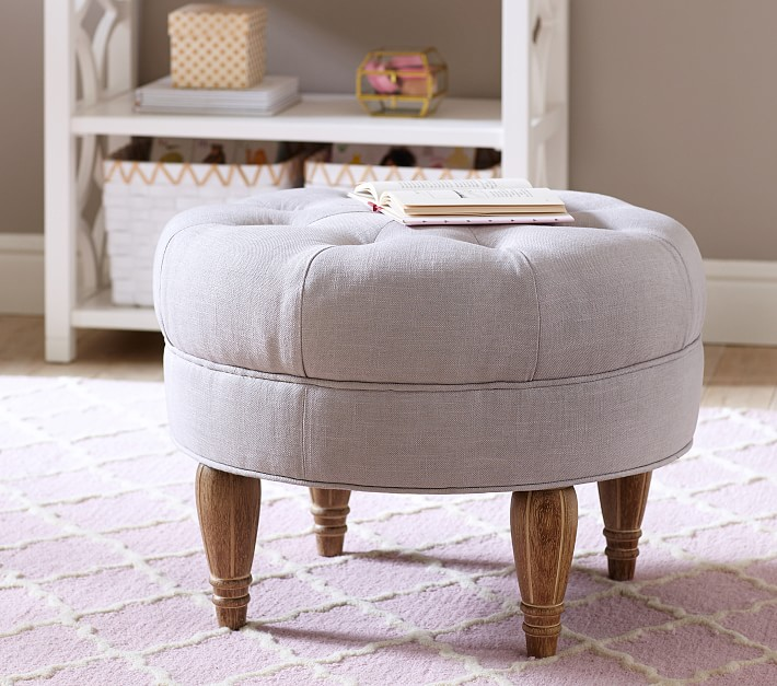 Tufted Ottoman from Pottery Barn Kids