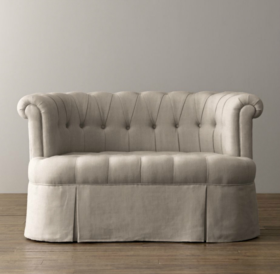 Emmeline Pee Velvet Sofa From Rh Baby Child