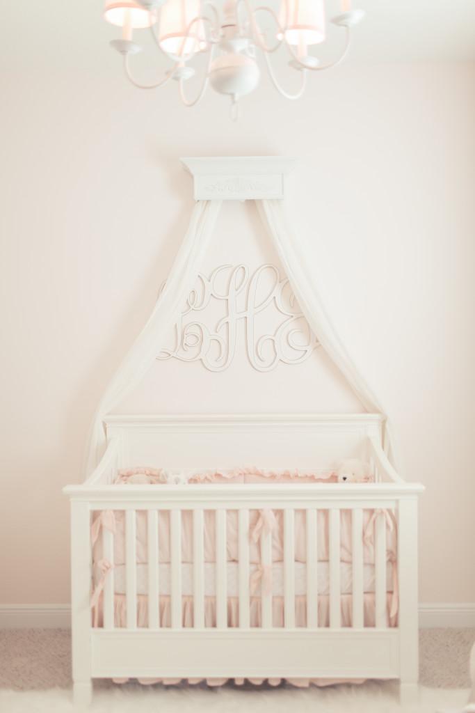 Pink Simplicity Nursery Project Nursery