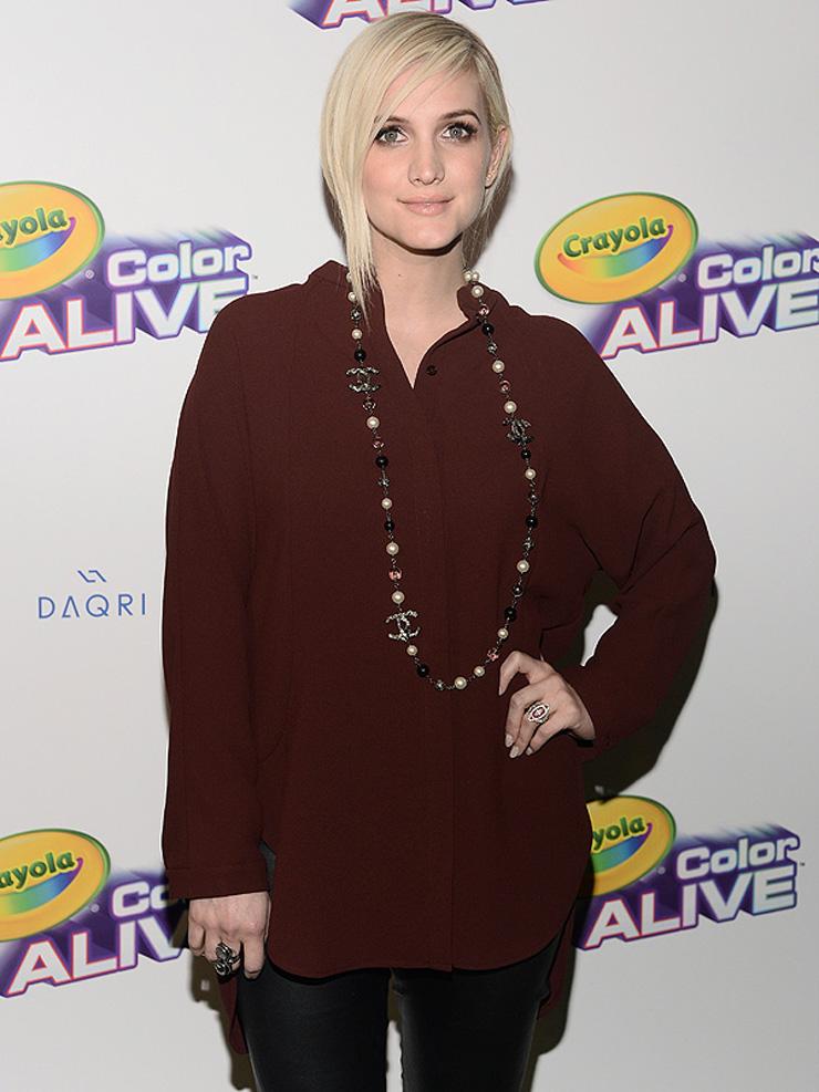 Ashlee Simpson's Maternity Style