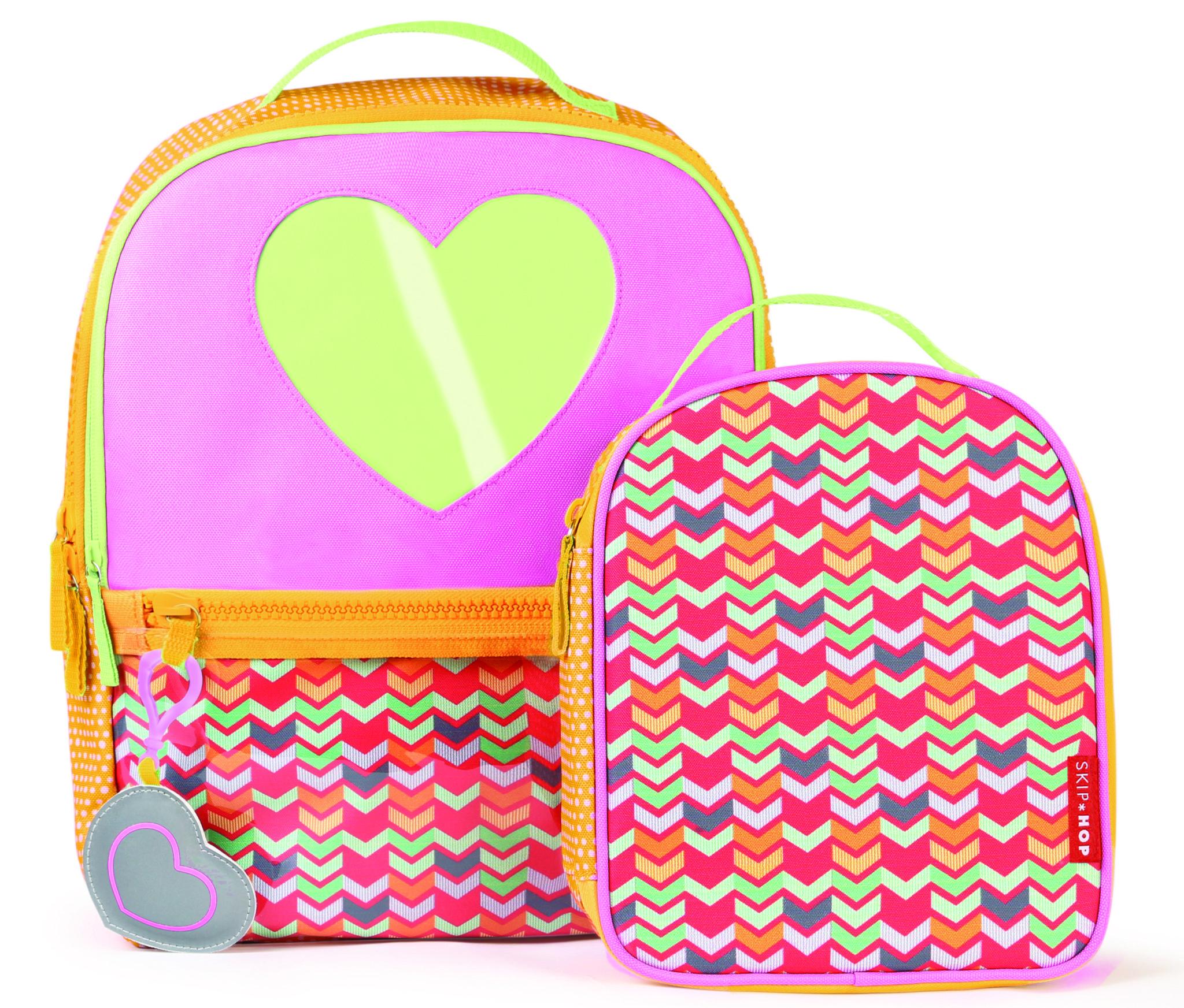 Skip Hop Forget Me Not Heart Backpack