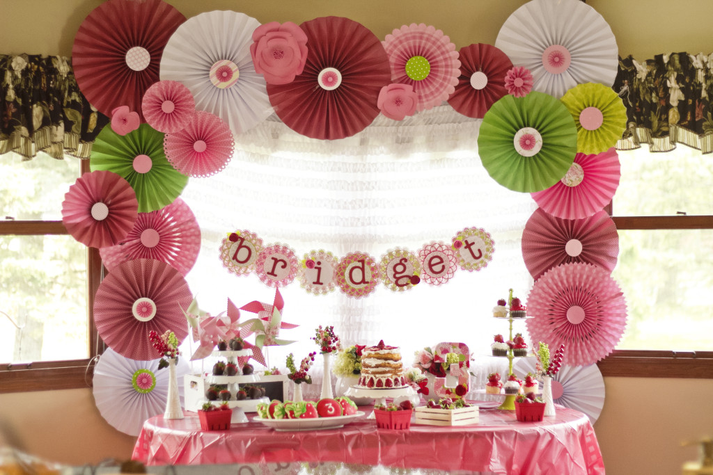 Bridget's Strawberry Shortcake Inspired Birthday Party - Project Nursery
