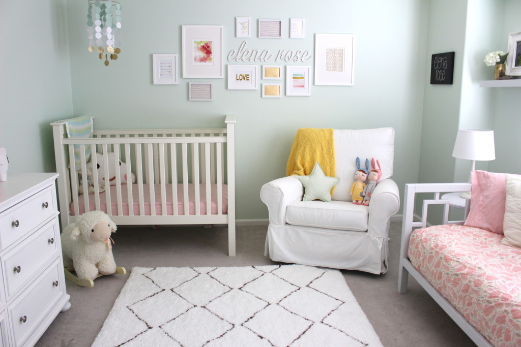 elena s mint and pink nursery project nursery