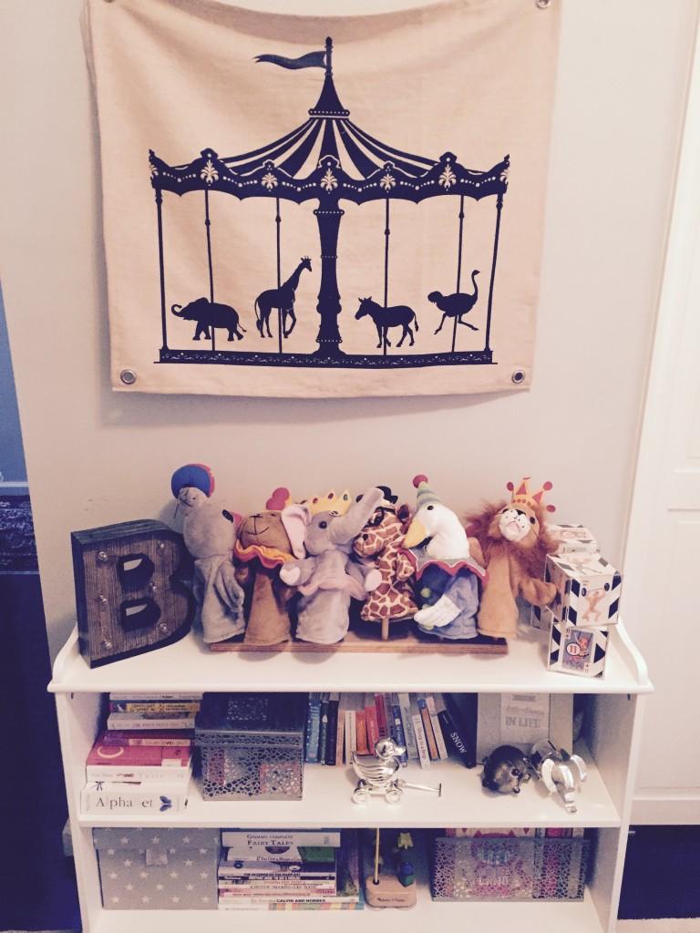Bookshelf & Toys