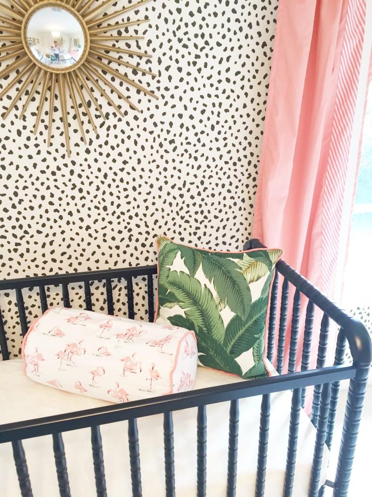 Baby Beach Bedroom: Edie's Palm Beach Inspired Nursery