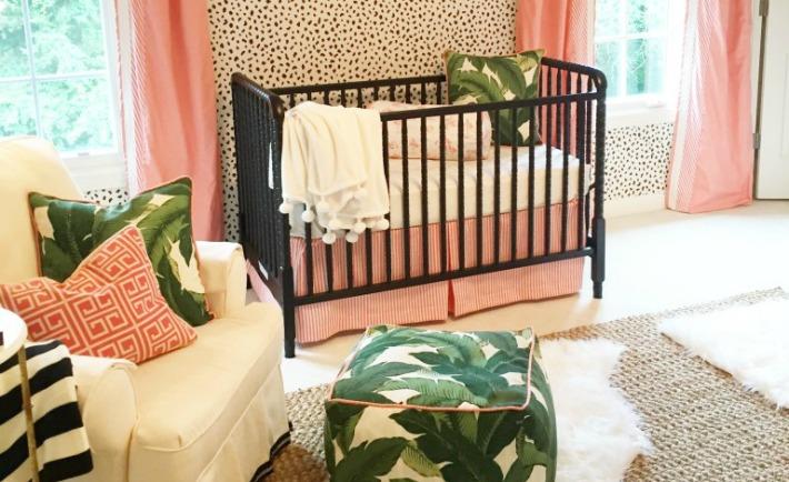 Palm Beach Inspired Nursery - Project Nursery