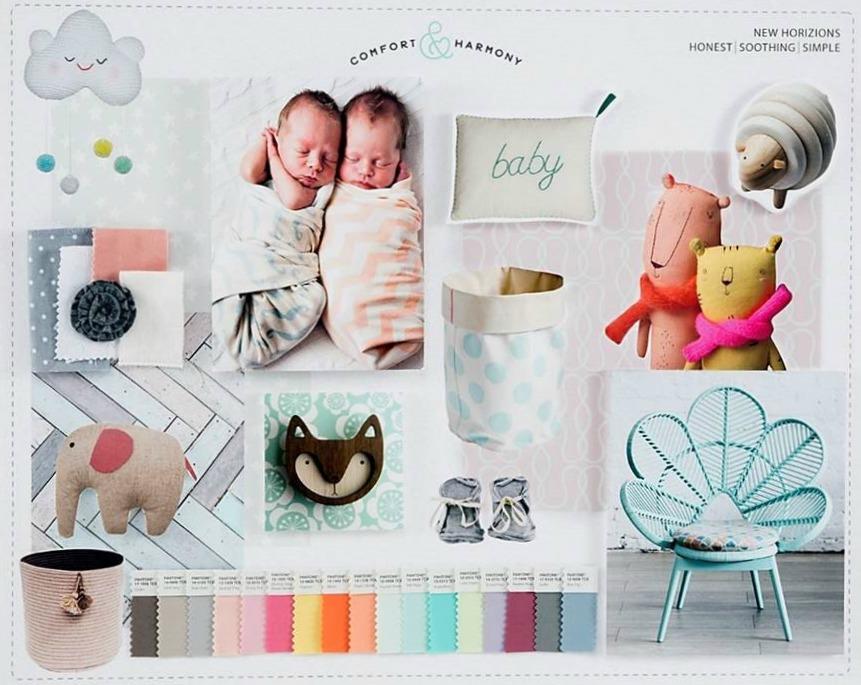 Comfort & Harmony Inspiration Board