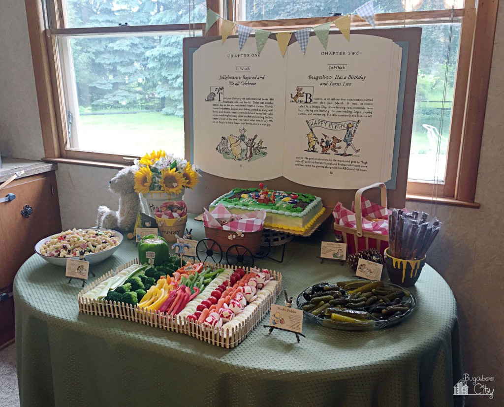 Winnie The Pooh Birthday And Baptism Party Project Nursery