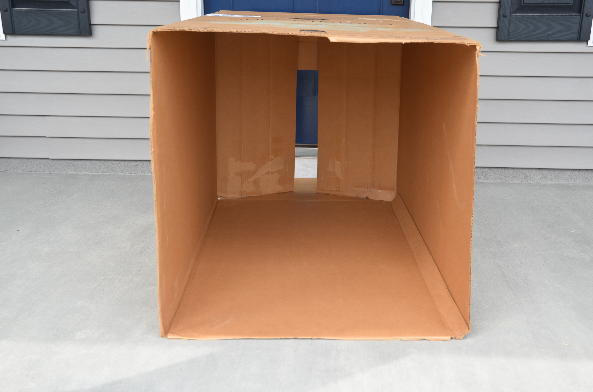 Cardboard Box for Kids Playhouse
