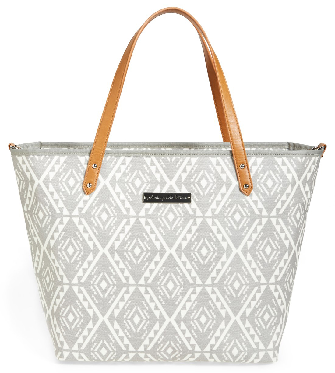 Glazed Canvas Diaper Bag from Nordstrom