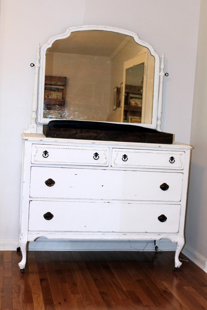 Refinished Distressed Dresser