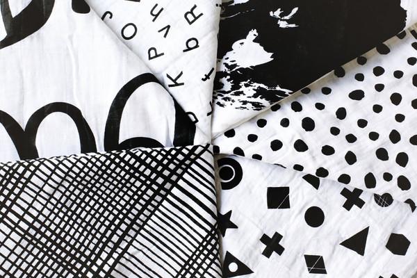 Muslin Swaddle Blankets from Modern Burlap