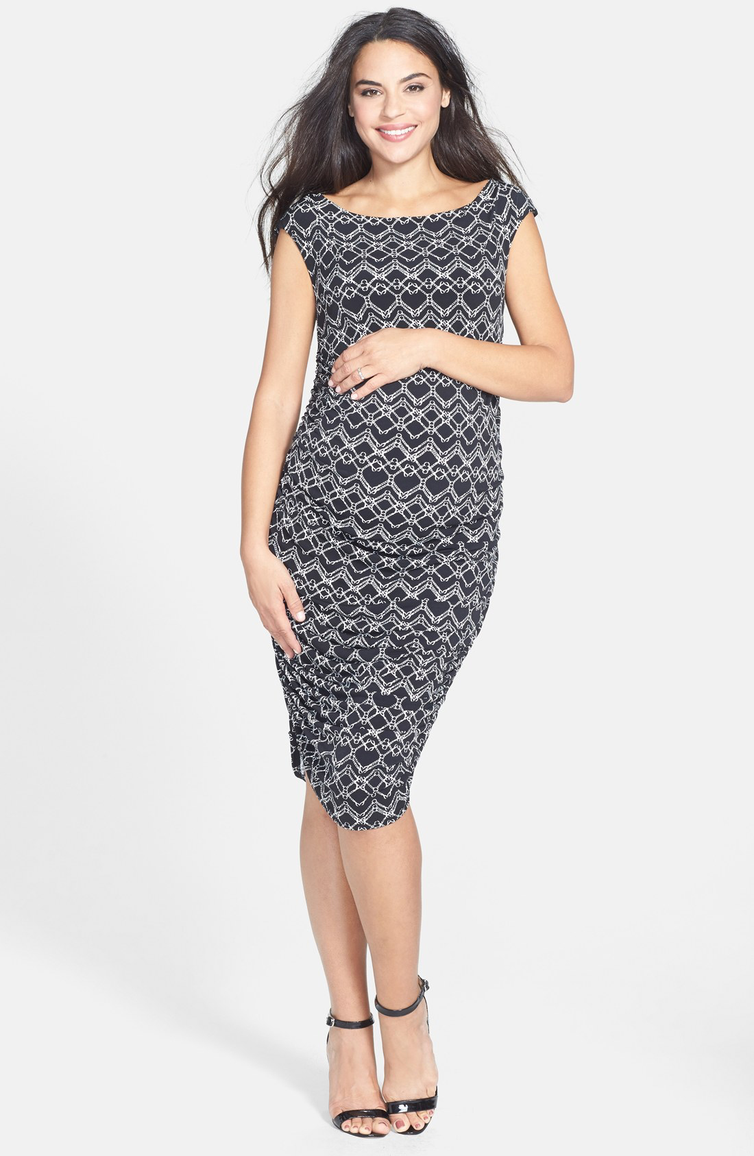 Ruched Maternity Dress from Nordstrom