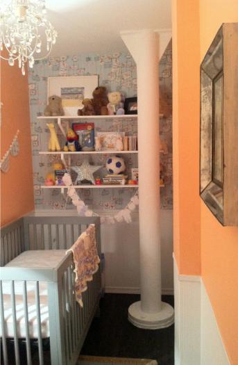 Walk In Closet To Nursery Project Nursery