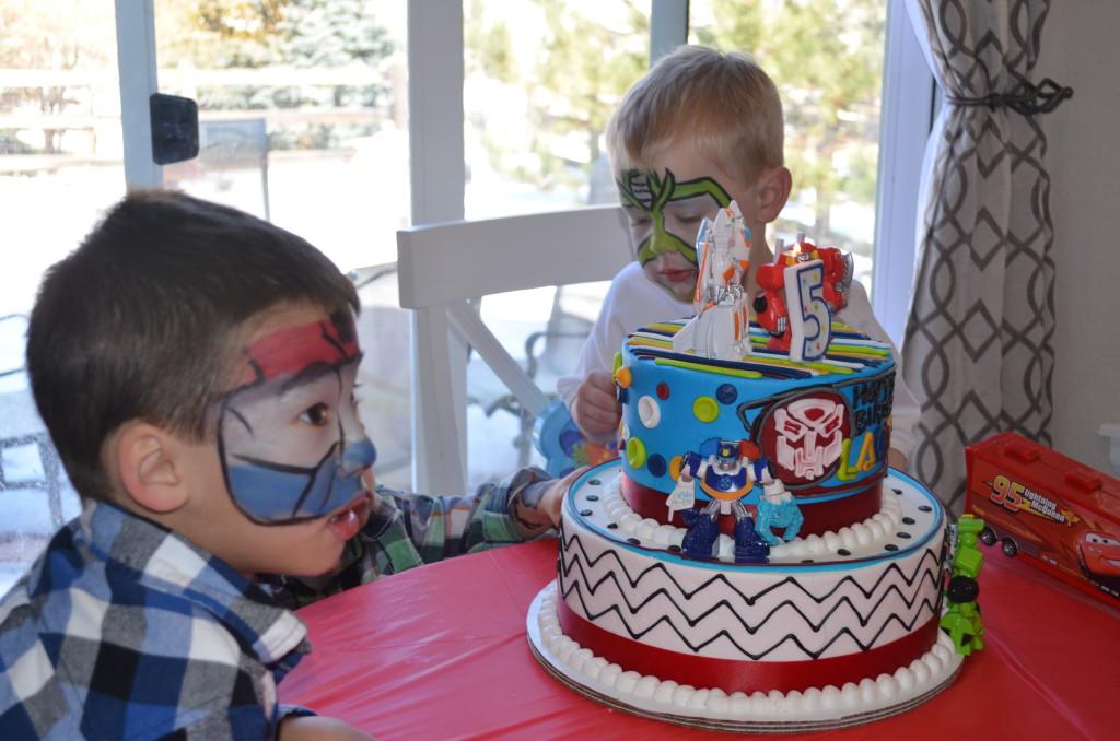Fine Landons Rescue Bots 5Th Birthday Project Nursery Funny Birthday Cards Online Alyptdamsfinfo