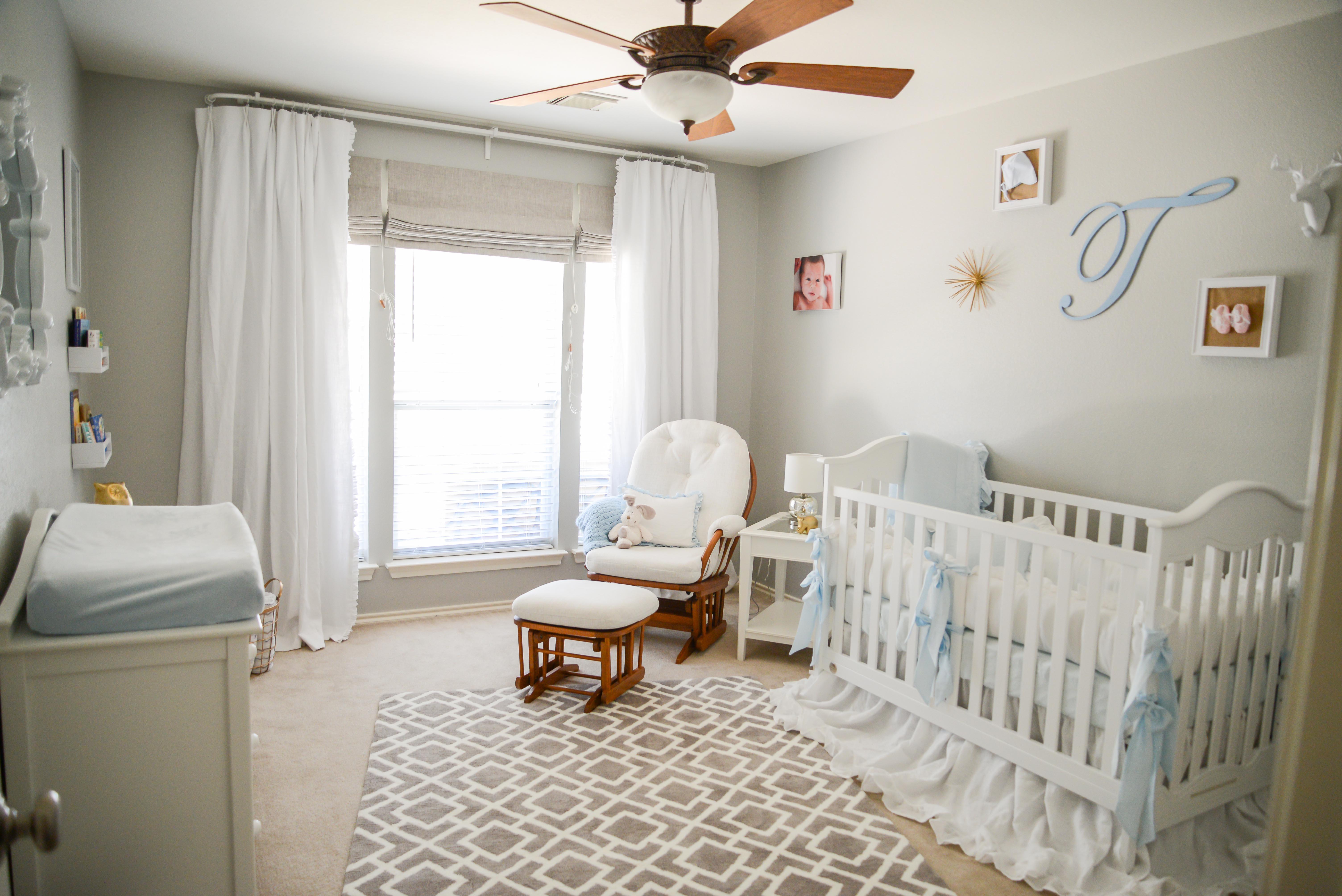 Dreamy Vintage White Nursery