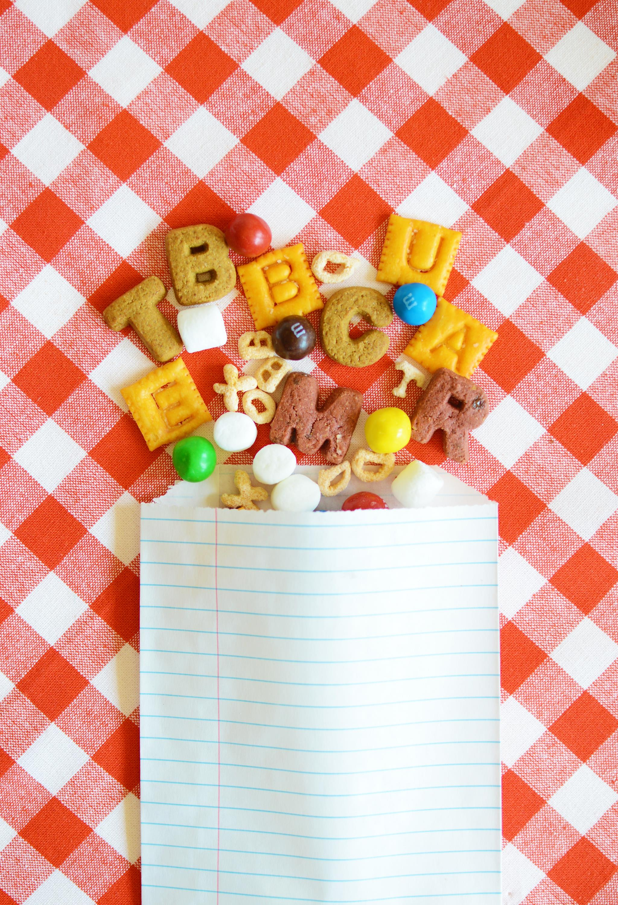 Back-to-School Snack Mix