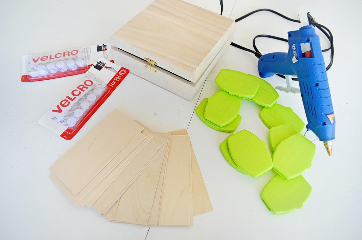 DIY Sensory Box Materials