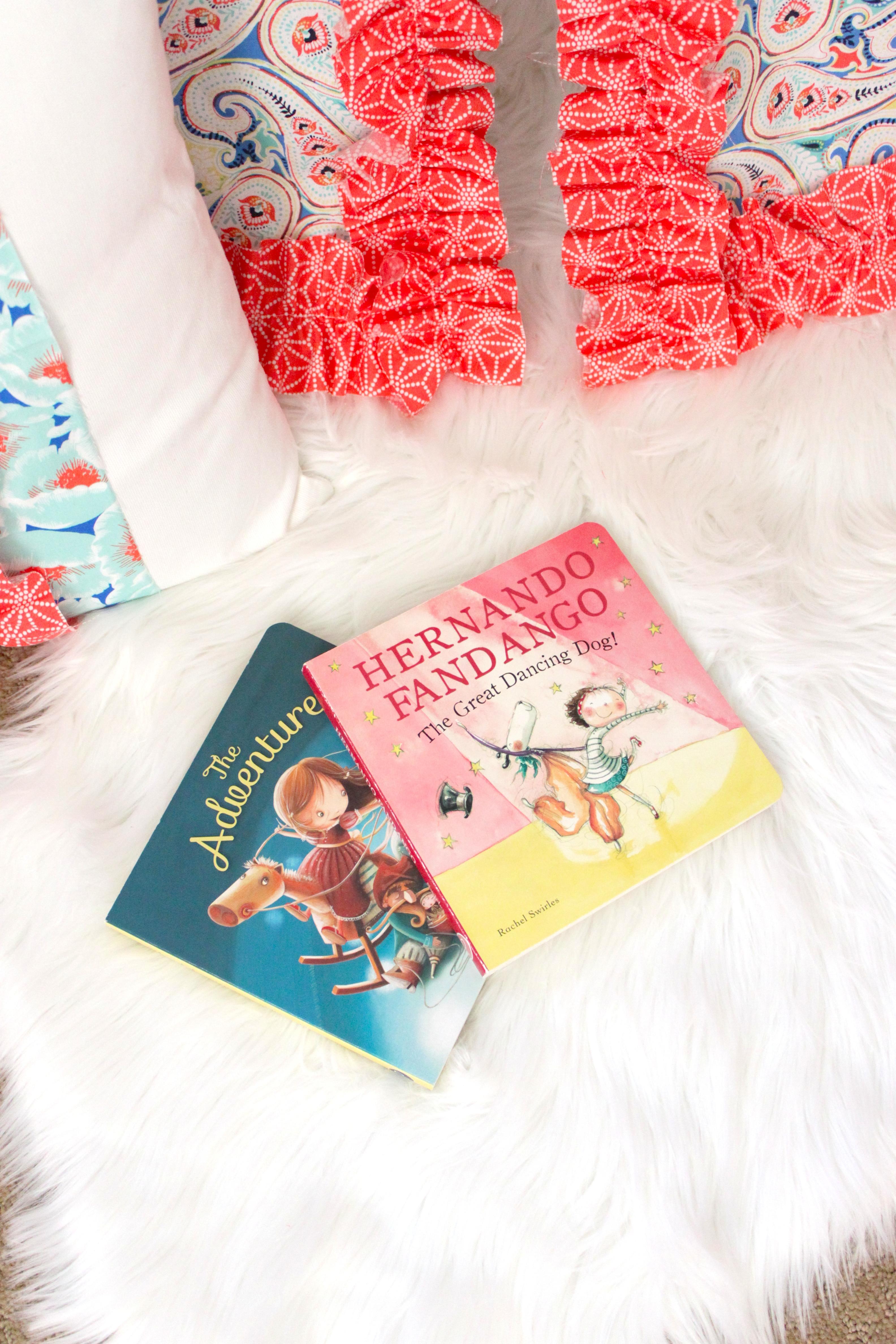 DIY Toddler Teepee Reading Nook