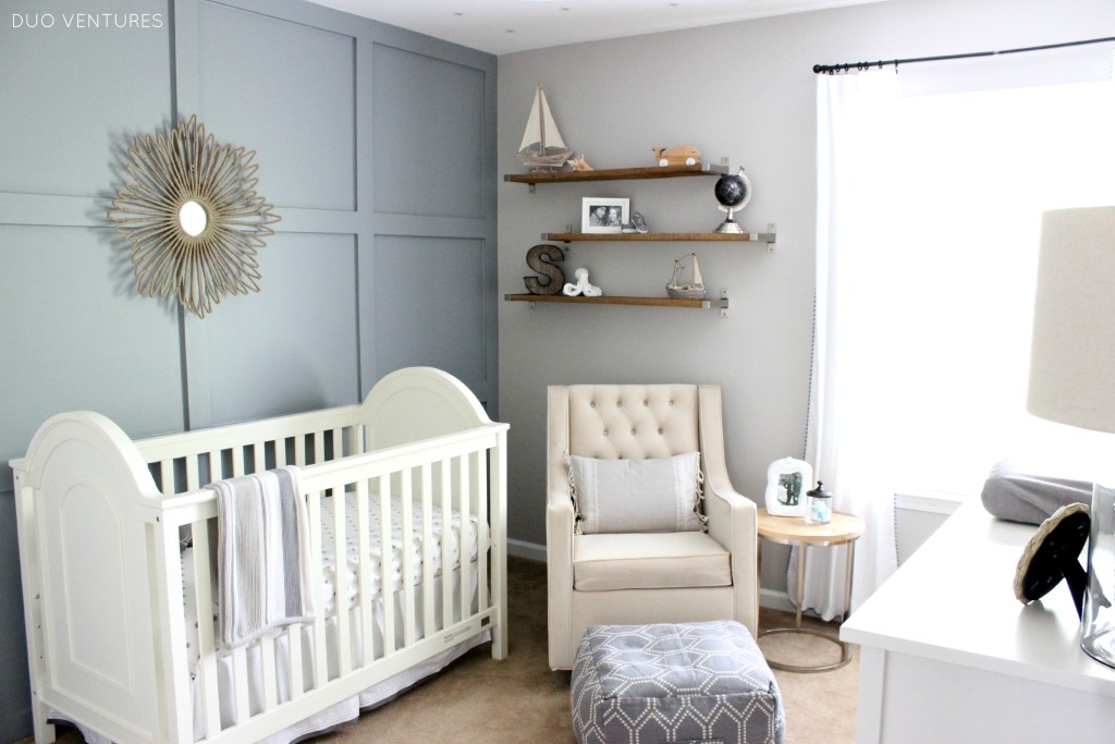 Hamptons Inspired Nautical/Travel Nursery