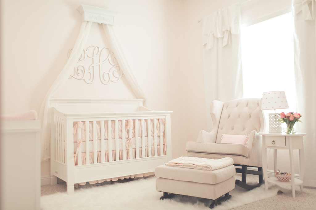 Calm and Serene Pink Nursery - Project Nursery